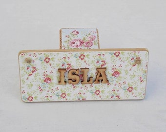 Personalised Name Plaque Boy or Girl