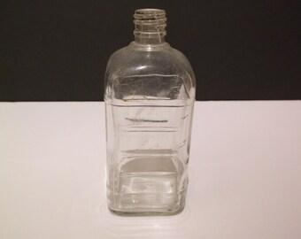 Vintage 1950's Johnson & Johnson Baby Oil Bottle