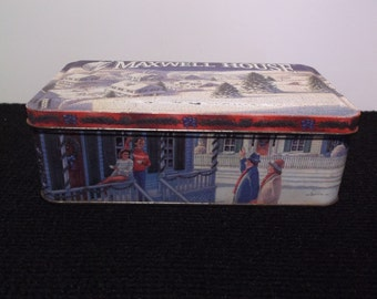 Nostalgic MAXWELL HOUSE COFFEE Tin circa 1993