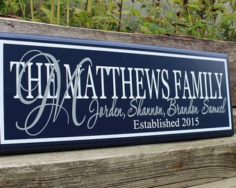 Personalized name signs-family wall art-personalized wooden signs-wood name sign-new home housewarming gift-personalized signs-family signs