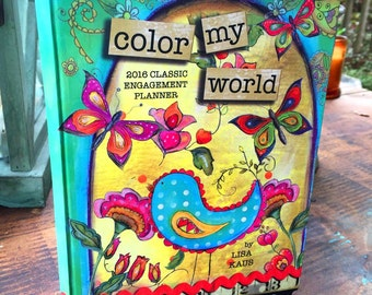 Color My World 2016 Engagement Planner