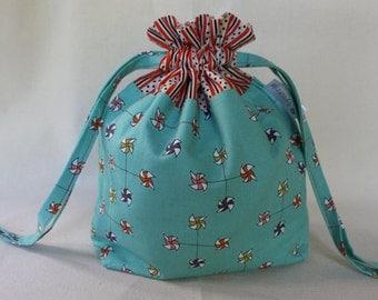 Pinwheels Project Bag