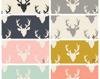 Deer    Changing Pad cover -  Choose your color print
