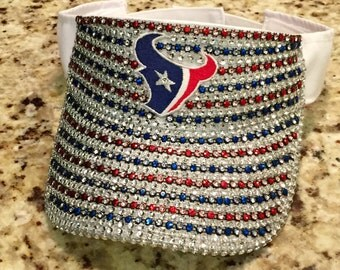 Houston Texans Bling Visor