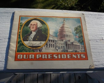 Pre World War II book about our Presidents