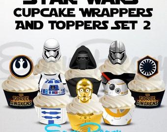Star Wars: The Force Awakens Cupcake Set