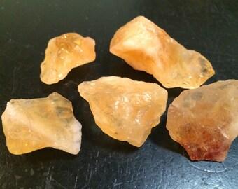 Raw Citrine Crystal - Citrine Stone - Citrine Cluster - Raw Citrine stone - Healing crystals and stones - brazilian citrine crystal