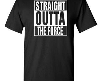 Straight Outta The Force Darkside Star Wars Men's Tee Shirt 1303