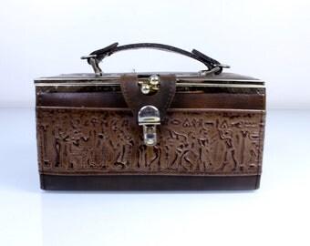 1970s Egyptian Box Purse
