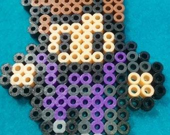 Perler bead, design, Hawkeye, Marvel, Avengers, pattern
