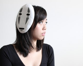 SALE - No Face Mask hair clip cosplay (Spirited Away)