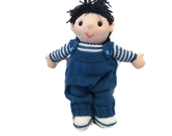 The Poppets knitted doll clothes choices - add on, knitted toy doll, knitted, boy clothes, doll clothes, dolly clothes, knitted outfits