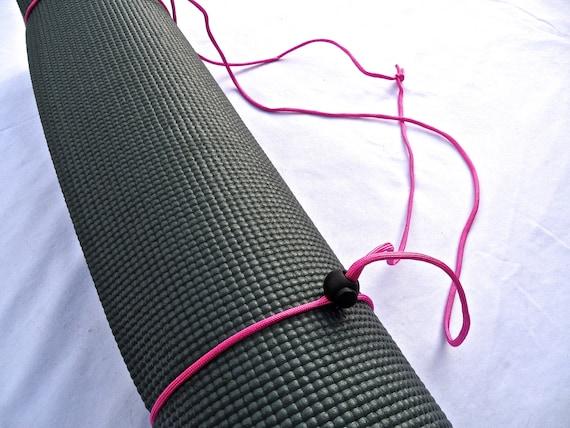 3N1 Yoga Mat Strap, FREE SHIPPING On All U.S. Orders- Tulip Pink- Yoga Mat Sling, Yoga Mat Carrier, Yoga Mat Holder, Yoga Mat Tote