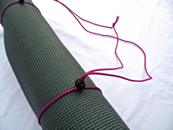 3N1 Yoga Mat Strap, FREE SHIPPING On All U.S. Orders- Dahlia Purple- Yoga Mat Sling, Yoga Mat Carrier, Yoga Mat Holder, Yoga Mat Tote