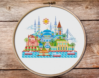 Pretty Little Istanbul, pretty little cities, Sultanahmet-the Blue Mosque, Kız Kulesi, Galata Tower, Dolmabahce, Istanbul, Turkey,