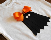 Halloween. Halloween onesie With Ghost. My First Halloween. onesies. ghost. girls clothing. shirts. bows