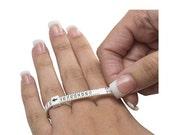 Multi-Sizer Adjustable Finger Gauge