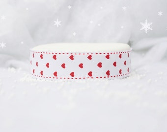 Red Heart Wired Ribbon