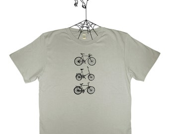Bikes - mens t-shirt EarthPositive