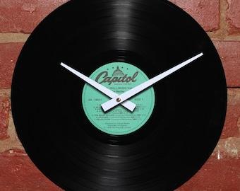 The Beatles - Rock 'n' Roll Music Volume 2 - Handmade Authentic Vinyl Clock