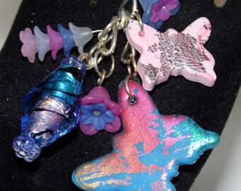 Born a butterfly Keychain