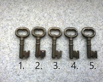 Antique Cast Iron Skeleton Key Necklaces