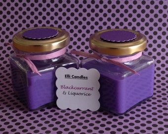 Handmade scented candle - a welcome addition to our sweet shop range.