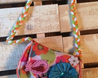 Felt purse for little girls