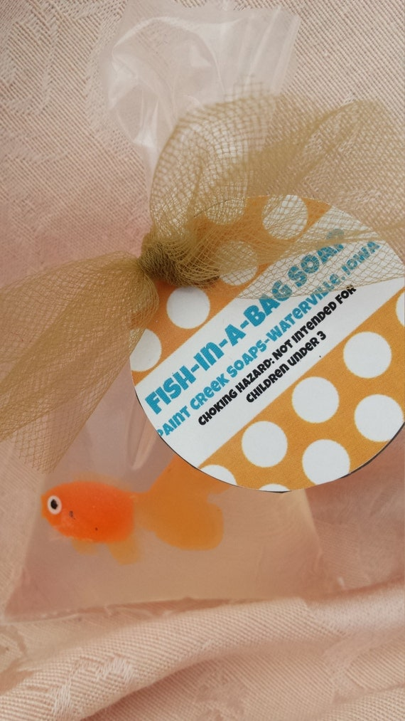Fish in a bag soap by paintcreeksoaps on etsy for Fish in a bag soap