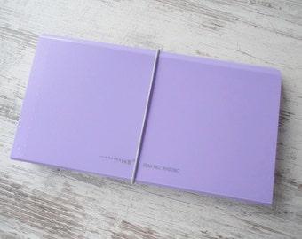 Accordion folder lilac
