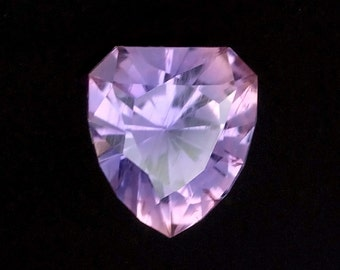 0.82 ct Natural untreated Lavender Umba Sapphire from Tanzania. Precision cut