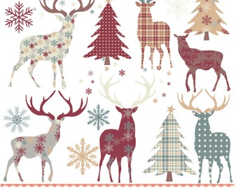 Christmas deer  Etsy