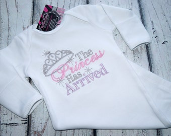 The Princess has arrived - Embroidered Gown