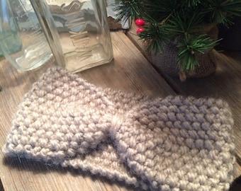 Hand Knitted Ear Warmer