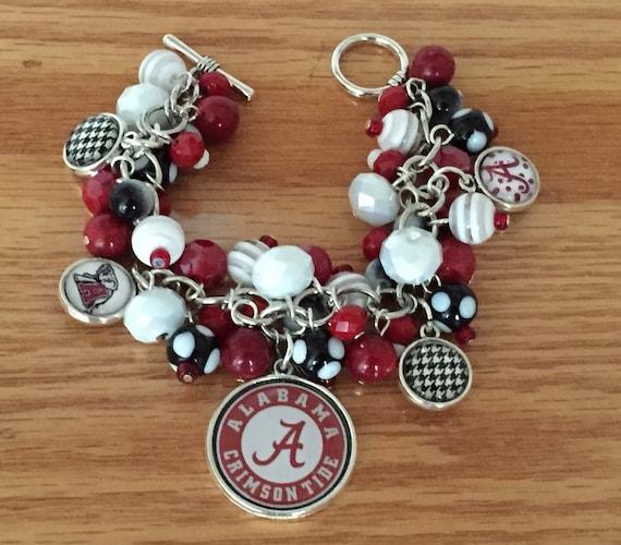 Handmade Alabama Charm Bracelet: Doublesided Charm Bracelet