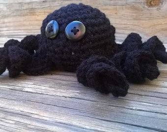 crochet spider,halloween,photo prop,decore',creepy,spiders,children,toy,