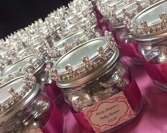 Princess mason jar favors
