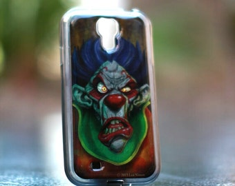 Angry Clown  Samsung Galaxy S4  TPU Case/Cover