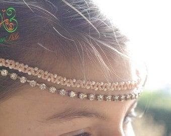 Headband Maïta , Jewels of hair original and remove