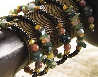 Indian Agate Coil