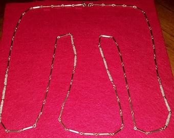Vintage signed monet necklace