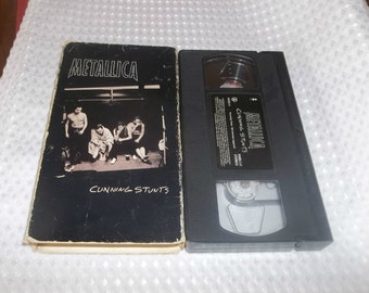 METALLICA Cunning Stunts Vhs Video tape Concert Fort Worth Texas 140 minutes