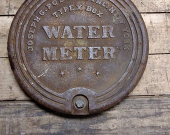 Vintage Water Meter Covers