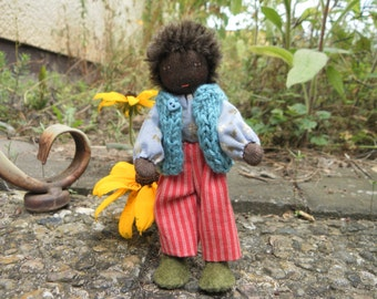 Moveable doll Moses for the dolls house