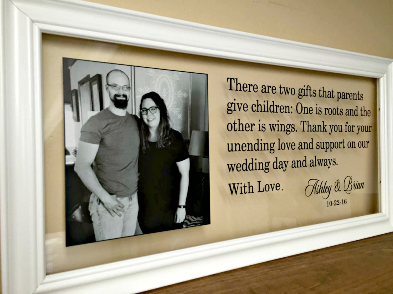 Wedding Gifts For Parents : Wedding Gifts for Parents Parents Gift Wedding Mother of the