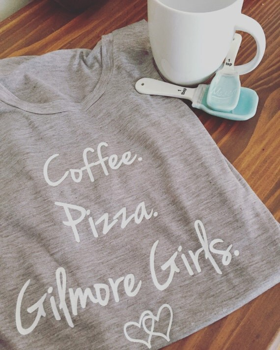 Coffee Pizza & Gilmore Girls