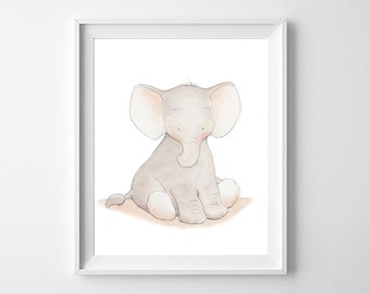 Elephant Nursery wall Art,Elephant Nursery print,Elephant Nursery decor,Elephant baby room ,Elephant Kids Art,Elephant Nursery ,Baby Art