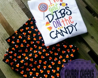 Boys or girls Halloween outfit - I've got dibs on the candy outfit.