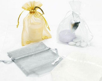 Classic Organza PartyFavour Bag Pack of 10