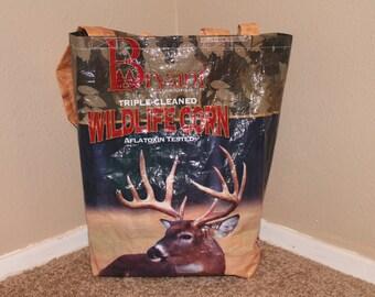 Upcycled Reusable Bags, Feed Sack Bags.